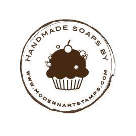 Custom Rubber Stamp - Personal - Cupcake, Soap - C197