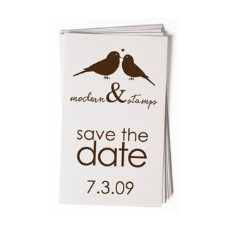 Custom Rubber Stamp - Wedding Stamp - Save the Date - BC14