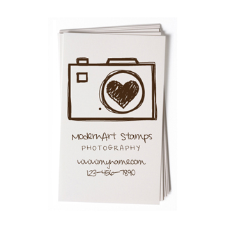 Custom rubber stamp business card camera photography bc55 custom rubber stamp business card camera photography bc55 colourmoves