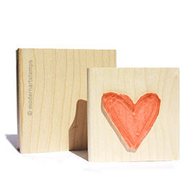 "Custom Business Card Stamp - Wood - 3"" X 2"" YOUR DESIGN"